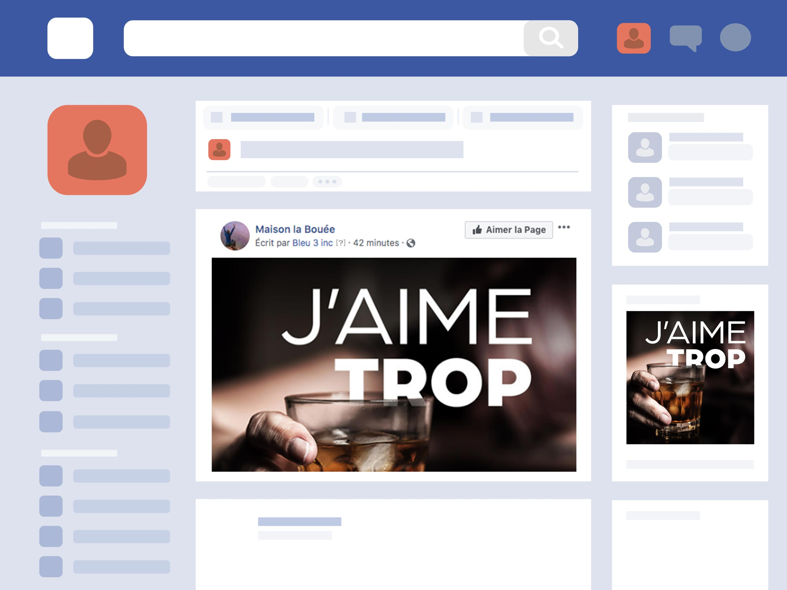 Maison la bouee tablette facebook ads