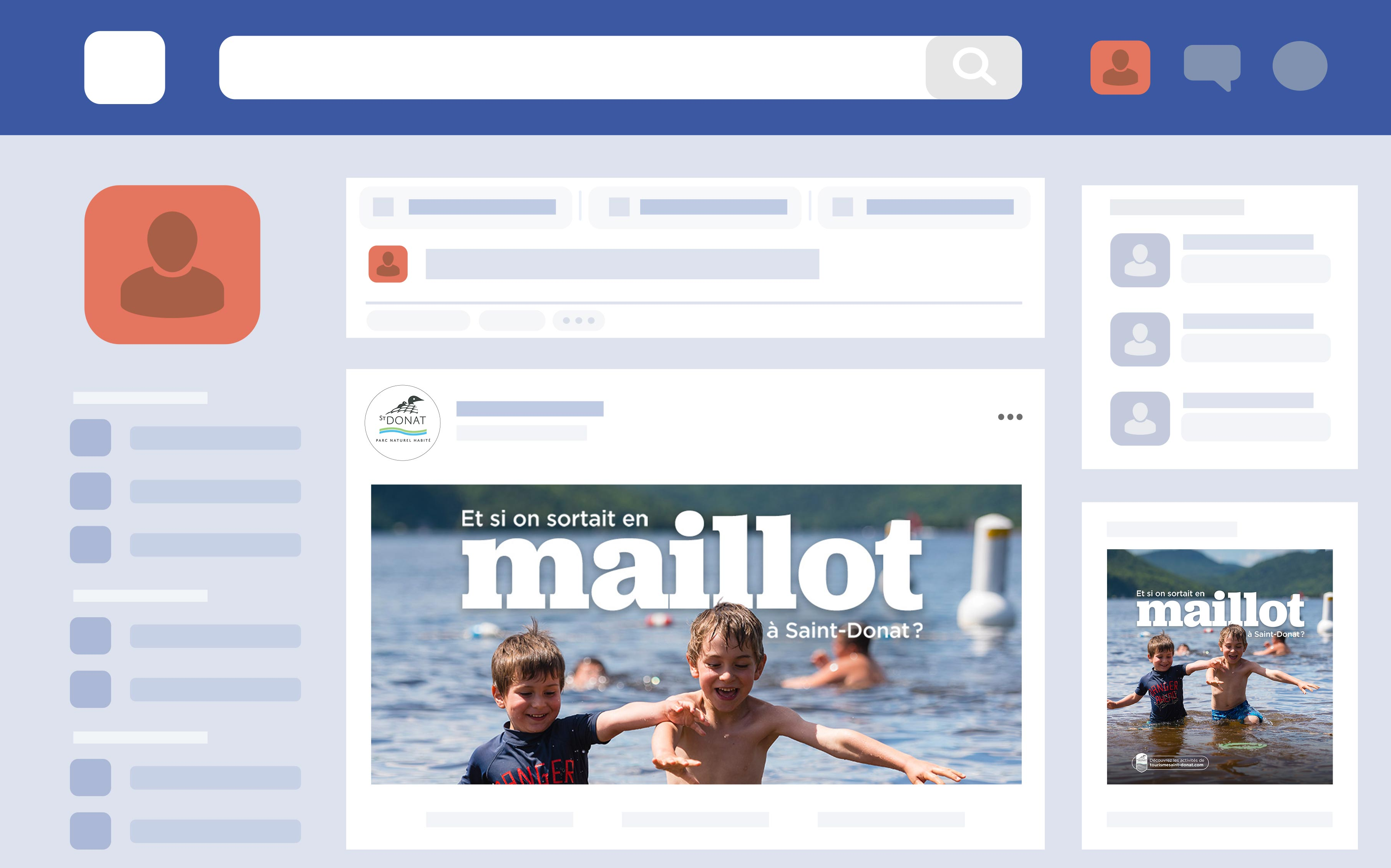 Facebook Ads desktop Saint-Donat