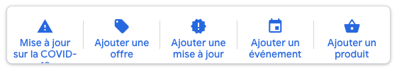 Message google business